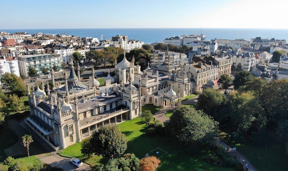 Brighton Pavilion Drone Inspection And Building Survey